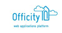 Officity logo and baseline